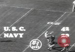 Image of football game Los Angeles California USA, 1949, second 6 stock footage video 65675062837