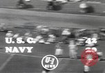 Image of football game Los Angeles California USA, 1949, second 7 stock footage video 65675062837