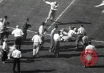 Image of football game Los Angeles California USA, 1949, second 36 stock footage video 65675062837