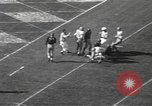 Image of football game Los Angeles California USA, 1949, second 55 stock footage video 65675062837