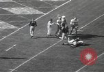 Image of football game Los Angeles California USA, 1949, second 56 stock footage video 65675062837