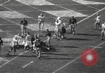 Image of football game Los Angeles California USA, 1949, second 60 stock footage video 65675062837
