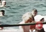 Image of Outdoor swimming pool in England England United Kingdom, 1943, second 54 stock footage video 65675062853