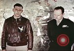 Image of U.S. Army Air Force fliers of the 351st Heavy Bomb Group Polebrook Northamptonshire England United Kingdom, 1943, second 18 stock footage video 65675062855