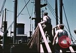 Image of Hannibal Victory ship Philippine Sea, 1945, second 35 stock footage video 65675062871