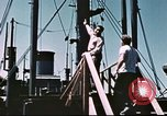 Image of Hannibal Victory ship Philippine Sea, 1945, second 36 stock footage video 65675062871