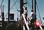 Image of Hannibal Victory ship Philippine Sea, 1945, second 37 stock footage video 65675062871