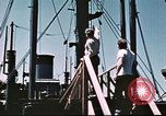 Image of Hannibal Victory ship Philippine Sea, 1945, second 38 stock footage video 65675062871