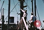 Image of Hannibal Victory ship Philippine Sea, 1945, second 40 stock footage video 65675062871