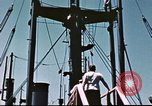 Image of Hannibal Victory ship Philippine Sea, 1945, second 43 stock footage video 65675062871