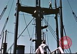 Image of Hannibal Victory ship Philippine Sea, 1945, second 44 stock footage video 65675062871