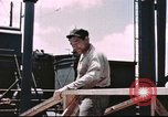 Image of Hannibal Victory ship Philippine Sea, 1945, second 49 stock footage video 65675062871