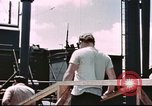 Image of Hannibal Victory ship Philippine Sea, 1945, second 52 stock footage video 65675062871