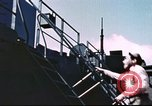 Image of Hannibal Victory ship Philippine Sea, 1945, second 56 stock footage video 65675062871