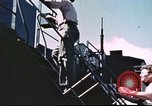 Image of Hannibal Victory ship Philippine Sea, 1945, second 58 stock footage video 65675062871