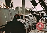 Image of Hannibal Victory ship Pacific ocean, 1945, second 39 stock footage video 65675062872