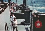Image of Hannibal Victory ship Pacific ocean, 1945, second 16 stock footage video 65675062877