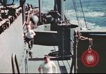 Image of Hannibal Victory ship Pacific ocean, 1945, second 17 stock footage video 65675062877