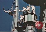 Image of Hannibal Victory ship Pacific ocean, 1945, second 55 stock footage video 65675062877