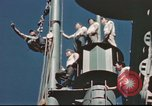 Image of Hannibal Victory ship Pacific ocean, 1945, second 56 stock footage video 65675062877