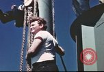 Image of Hannibal Victory ship Pacific ocean, 1945, second 58 stock footage video 65675062877