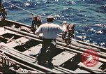 Image of Hannibal Victory ship Pacific ocean, 1945, second 31 stock footage video 65675062880