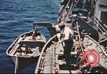 Image of Hannibal Victory ship Pacific ocean, 1945, second 43 stock footage video 65675062880