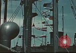 Image of Hannibal Victory ship Pacific ocean, 1945, second 2 stock footage video 65675062881