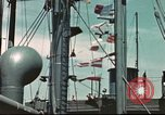 Image of Hannibal Victory ship Pacific ocean, 1945, second 5 stock footage video 65675062881