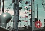 Image of Hannibal Victory ship Pacific ocean, 1945, second 6 stock footage video 65675062881