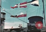 Image of Hannibal Victory ship Pacific ocean, 1945, second 9 stock footage video 65675062881