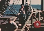 Image of Hannibal Victory ship Pacific ocean, 1945, second 21 stock footage video 65675062884