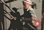 Image of Hannibal Victory ship Pacific ocean, 1945, second 32 stock footage video 65675062884