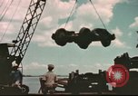 Image of Hannibal Victory ship Philippines, 1945, second 5 stock footage video 65675062890