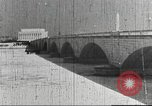 Image of flood in Potomac river United States USA, 1936, second 55 stock footage video 65675062895