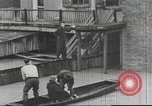 Image of damage from flood Harpers Ferry West Virginia USA, 1936, second 22 stock footage video 65675062896