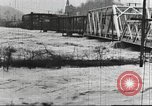 Image of damage from flood Harpers Ferry West Virginia USA, 1936, second 37 stock footage video 65675062896
