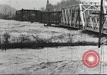 Image of damage from flood Harpers Ferry West Virginia USA, 1936, second 38 stock footage video 65675062896