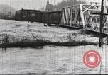 Image of damage from flood Harpers Ferry West Virginia USA, 1936, second 39 stock footage video 65675062896