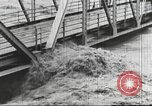 Image of damage from flood Harpers Ferry West Virginia USA, 1936, second 47 stock footage video 65675062896