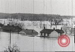 Image of damage from flood Washington DC USA, 1936, second 4 stock footage video 65675062897