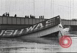Image of damage from flood Washington DC USA, 1936, second 5 stock footage video 65675062897