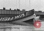 Image of damage from flood Washington DC USA, 1936, second 6 stock footage video 65675062897