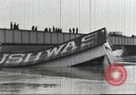 Image of damage from flood Washington DC USA, 1936, second 7 stock footage video 65675062897