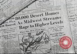 Image of damage from flood Ohio United States USA, 1937, second 3 stock footage video 65675062900