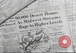 Image of damage from flood Ohio United States USA, 1937, second 4 stock footage video 65675062900