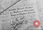 Image of damage from flood Ohio United States USA, 1937, second 5 stock footage video 65675062900
