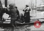 Image of damage from flood Ohio United States USA, 1937, second 24 stock footage video 65675062900