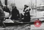Image of damage from flood Ohio United States USA, 1937, second 25 stock footage video 65675062900