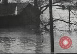 Image of damage from flood Ohio United States USA, 1937, second 54 stock footage video 65675062900